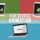 Flat Devices Animation