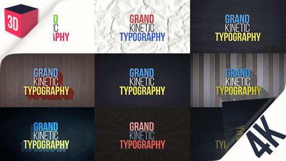 Videohive - Grand Kinetic Typography 17124183 - Free Download