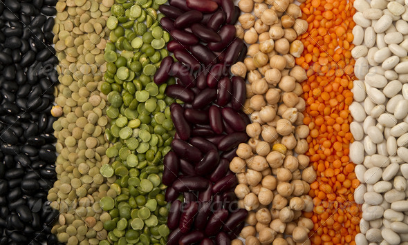 mixed dried beans - Stock Photo - Images