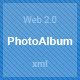 Web 2.0 PhotoAlbum - ActiveDen Item for Sale