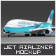 Jet Airliner A380 Mock-Up