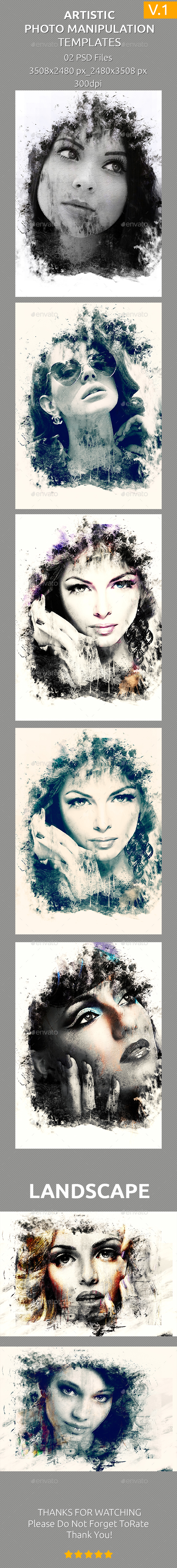 Artistic Photo Manipulation Templates (Artistic)