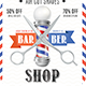 Barber Shop Flyer Template PSD