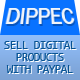 Dippec - Sell Digital Products with Paypal