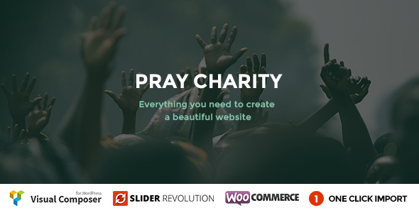 Download Pray - Charity / Nonprofit / Fundraising WordPress nulled download