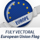 European Union Flag Badges - GraphicRiver Item for Sale