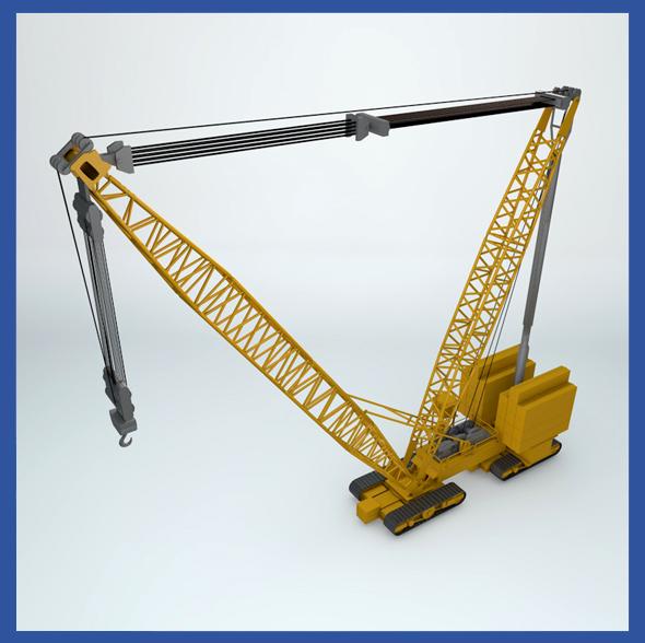 Crane Machine - 3DOcean Item for Sale