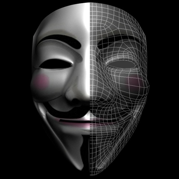 3DOcean Anonymous Mask 1703767