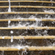 Fountain Waterfall on Stairs