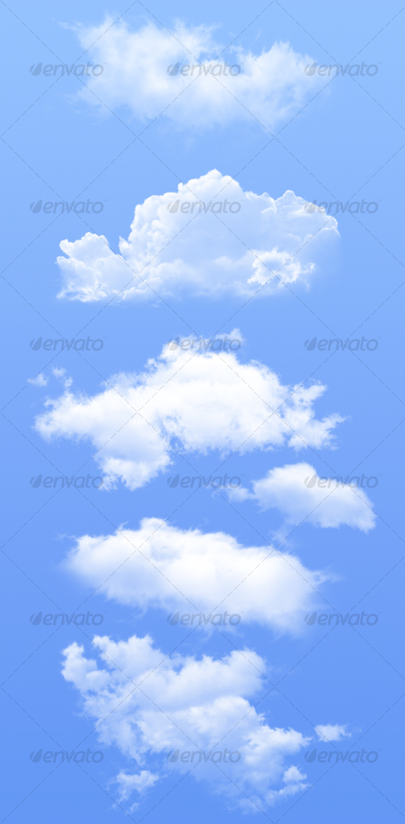 GraphicRiver Isolated Clouds 66494