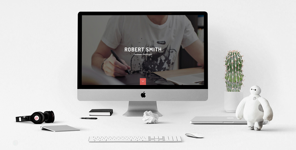Robert Smith - Responsive Retina Resume HTML5 CV