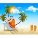 Summer Holidays Background Vacation Memories