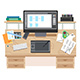 UI and UX App Design Workspace