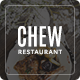 Chew - Restaurant PSD Template