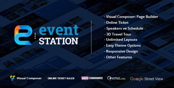 Download Event Station - Event & Conference WordPress Theme nulled download