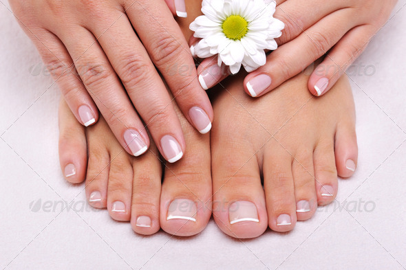 PhotoDune Skincare of a beauty female feet 1707131