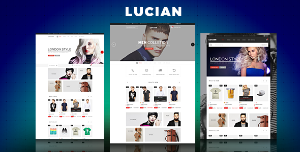 Lucian - eCommerce Fashion Template
