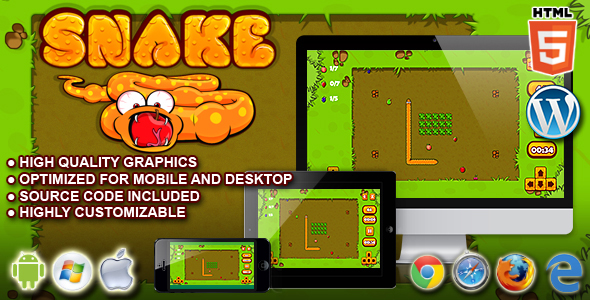 Snake - HTML5 Game