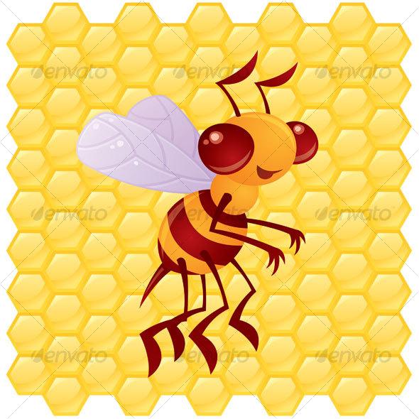 GraphicRiver Honey Bee 66522