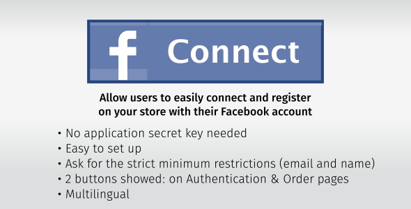 Download Facebook Connect & Register
