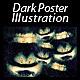 Dark Poster Illustration - GraphicRiver Item for Sale