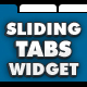 Sliding Tabs Widget - ActiveDen Item for Sale