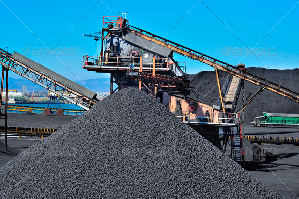 PhotoDune coal industry 1706879