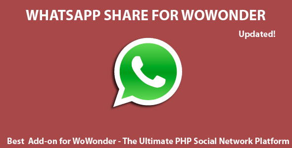 Whatsapp Share For Wowonder