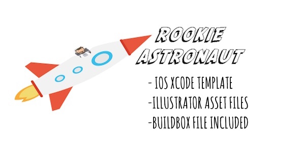 Rookie Astronaut - iOS Game Template with Admob for Xcode - CodeCanyon Item for Sale