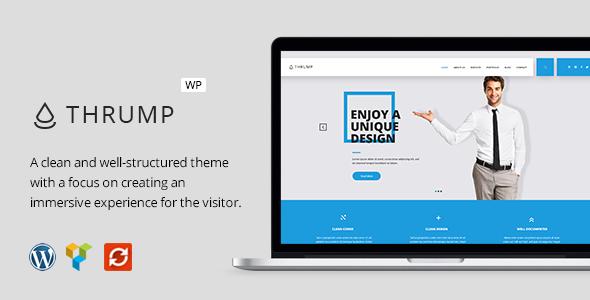 Download Thrump - Modern Business WordPress Theme nulled download