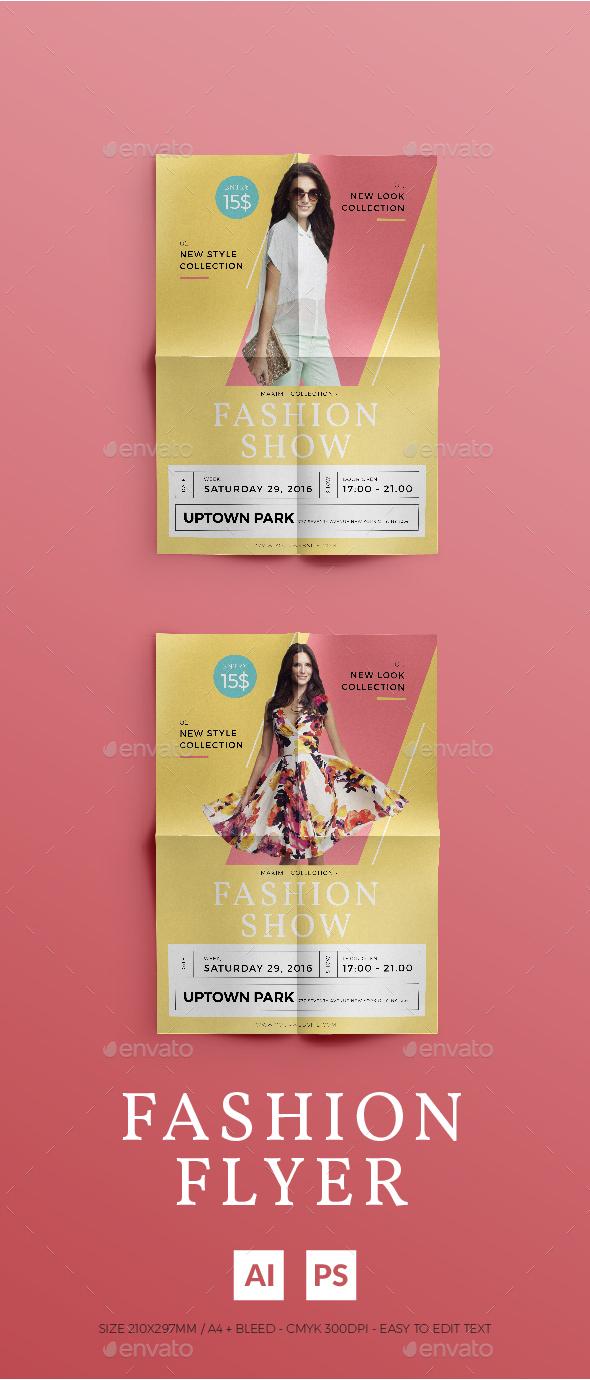 Summer Fashion Flyer