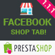 Facebook Shop Tab
