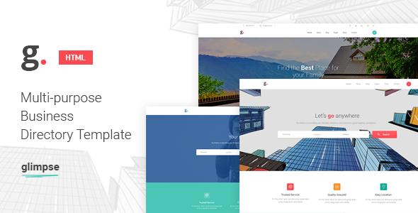 Download Glimpse Multipurpose Directory Template