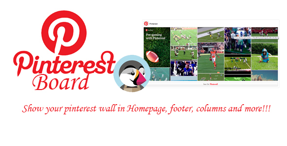 Prestashop Pinterest Board - CodeCanyon Item for Sale