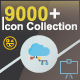 9000+ Flat Icons, Solid Icons, Line Icons & More