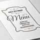Simple Restaurant Menu-Graphicriver中文最全的素材分享平台