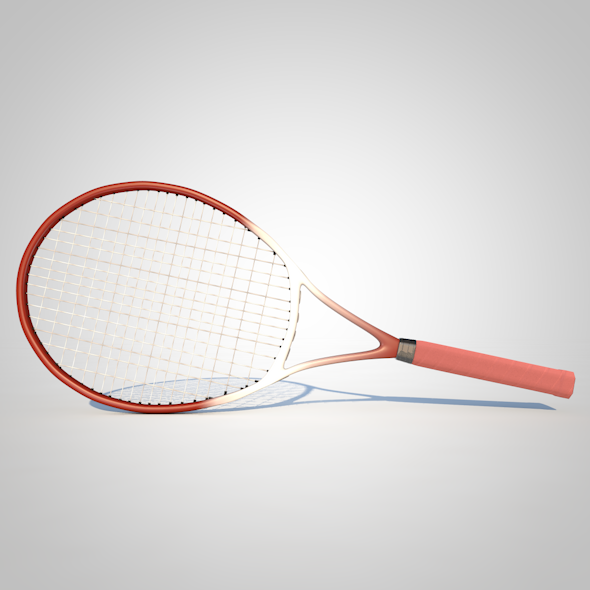 3DOcean Tennis Racket 17165572