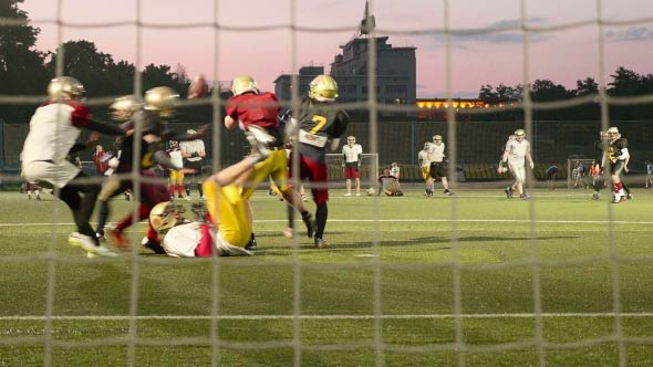 Download American Football in the Evening nulled download