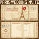Wedding Invite Tickets