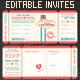 Las Vegas Wedding Invite Tickets