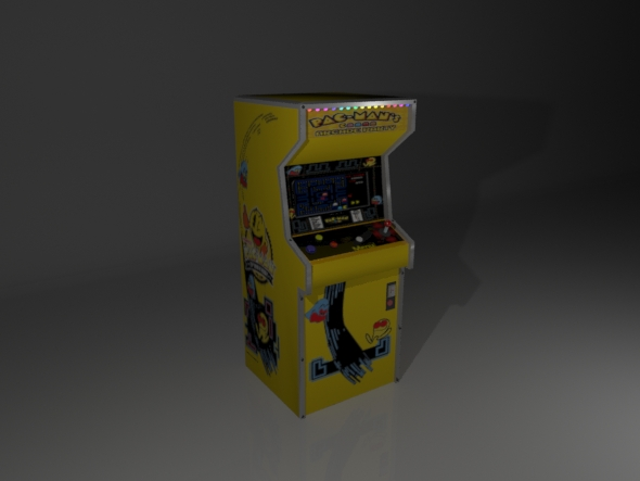 3DOcean Low poly arcade machine 17168850