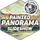 Painted Panorama Slideshow