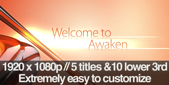 After Effects Project - VideoHive Awaken Section Titles & Lower 3rds Pack 2 ...