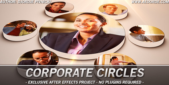 After Effects Project - VideoHive Corporate Circles 1708474
