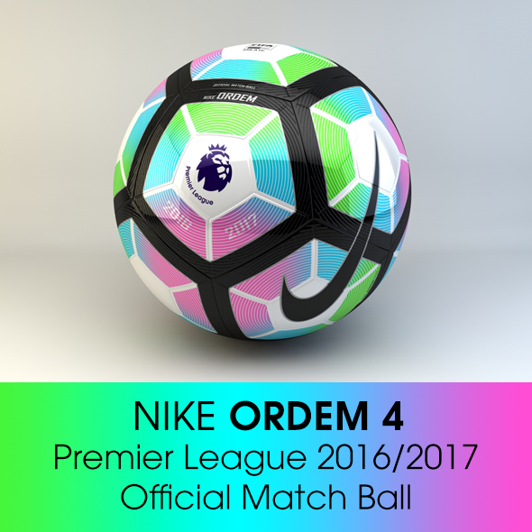 Nike ORDEM 4 Premier League - 3DOcean Item for Sale