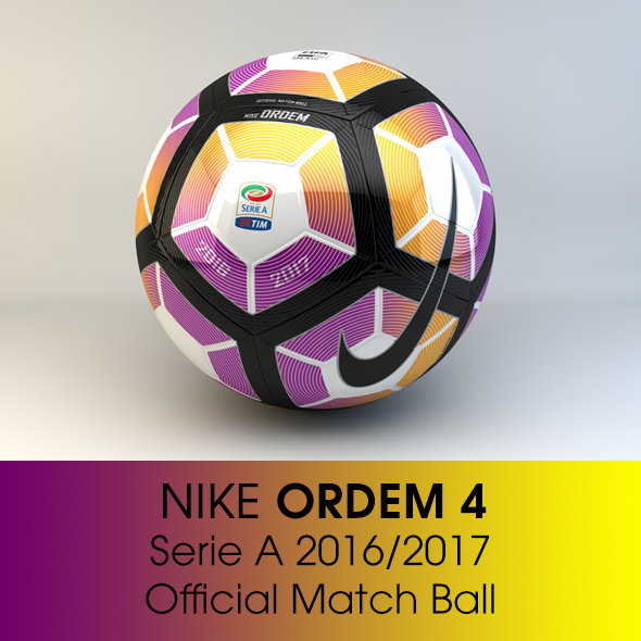 Nike ORDEM 4 Serie A - 3DOcean Item for Sale