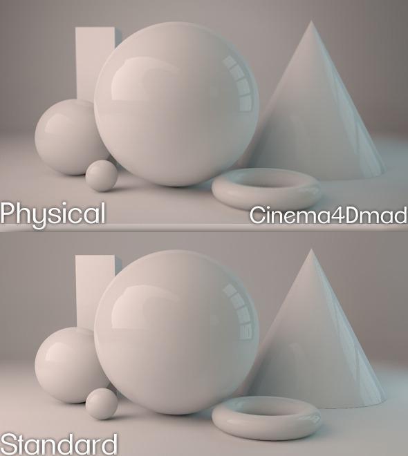 Physical render studio cinema 4D - 3DOcean Item for Sale
