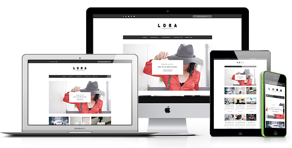 Download LORA - Clean & Personal WordPress Blog Theme