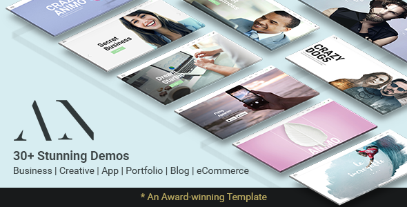 Download Animo – Modern & Clean Multi-Purpose WordPress Theme