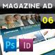 Magazine Advert Template 006 - GraphicRiver Item for Sale